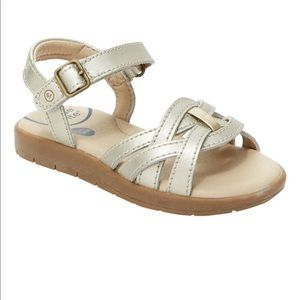 Stride Rite Millie Sandal in Gold